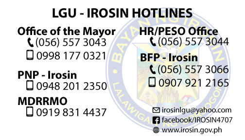 irosin hotline